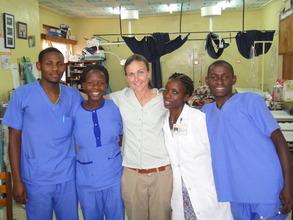 Board Member - Dr. Sara Nelson Visits Nyakibale