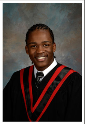 Caleb Abraham, First NCH Graduate