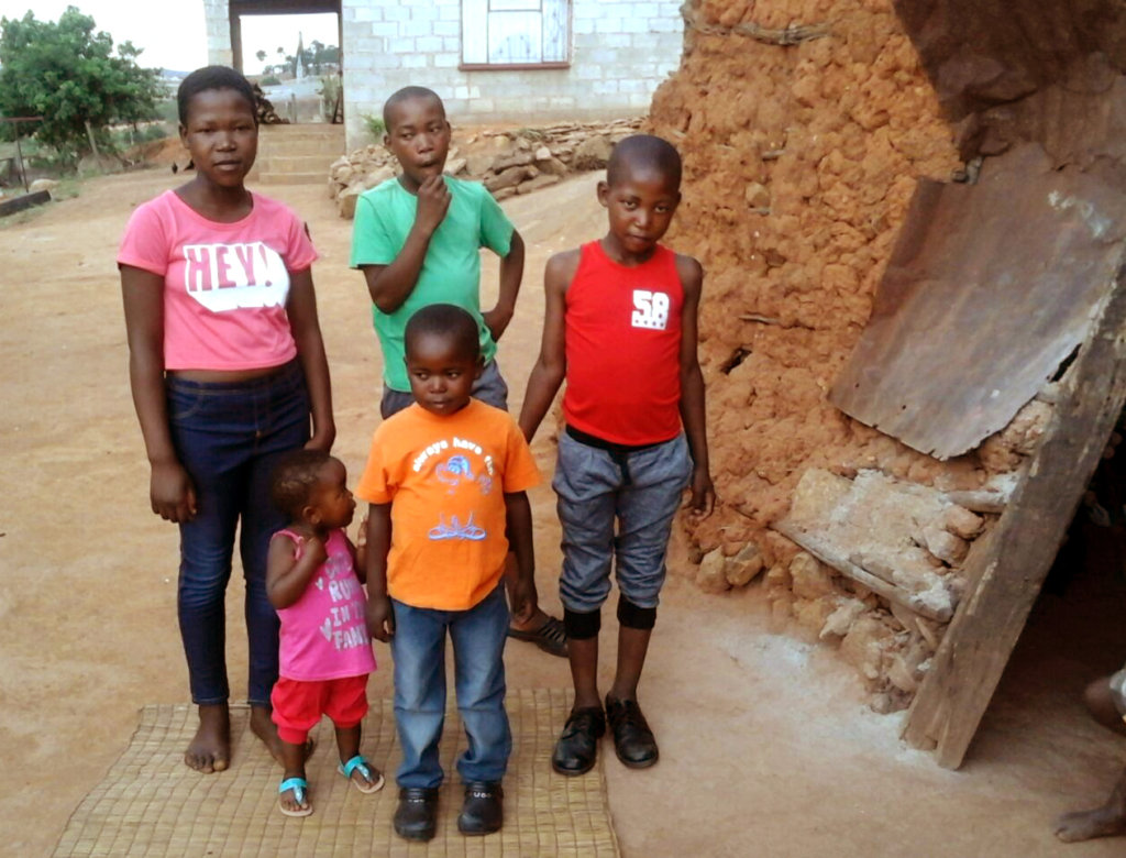 Orphaned Kids in New Clothes Supplied by NHC Kids