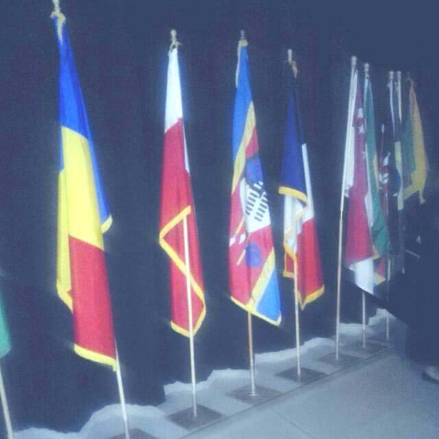 First Time the Swazi Flag Displayed at Competition