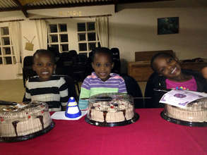 Triplets 6th Birthday Party