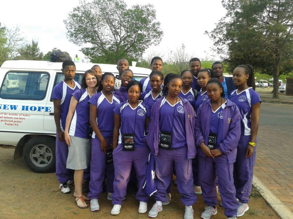 New Hope Contestants in All Africa Conference