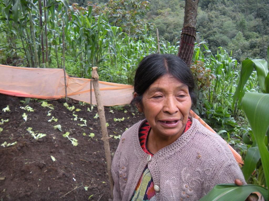 Candelaria with Her Garden