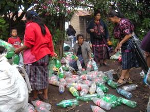 Sorting the Plastic Bottles
