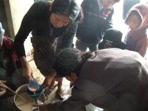 Bottling the Fertilizar for Each House!