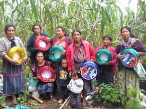 Chumanzana Group with their Garden Tools