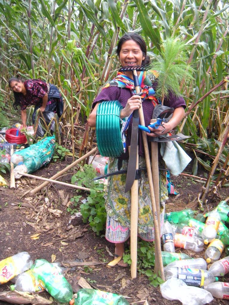 Provide Organic Gardens for 20 Indigenous Women