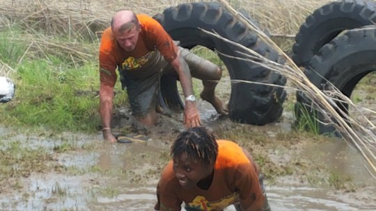 Kidzcan Board Chair: Mr Dave Mills seriously muddy