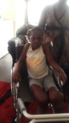 Tanaka wheel chair assistance