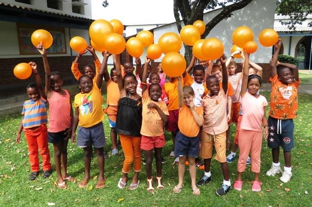 Zimbabwe is orange today to raise funds 4 Kidzcan
