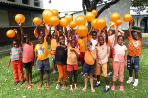 Zimbabwe is orange today to raise funds 4 Kidzcan