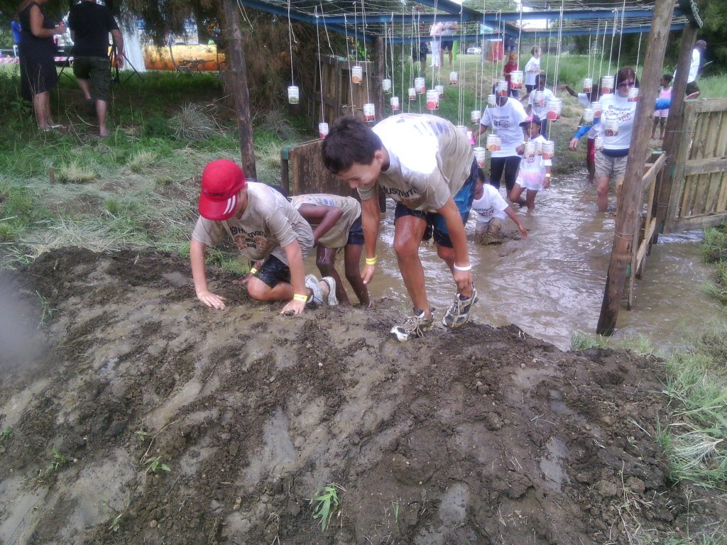 Mud run for Children with cancer