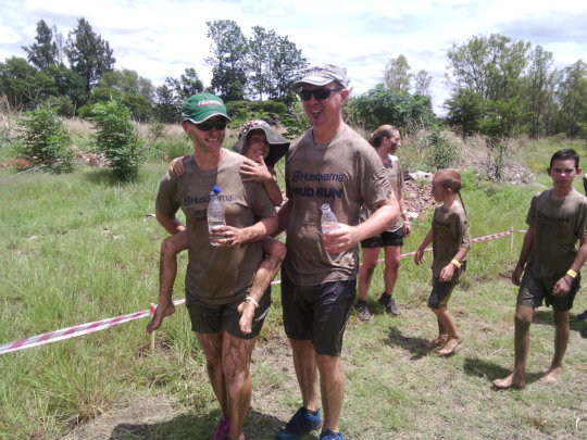 Running in the Mud for raising funds