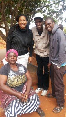 Kudzi, Mum and Kidzcan Officers