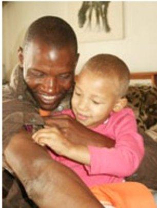Mckeena 4 yrs, with Francis