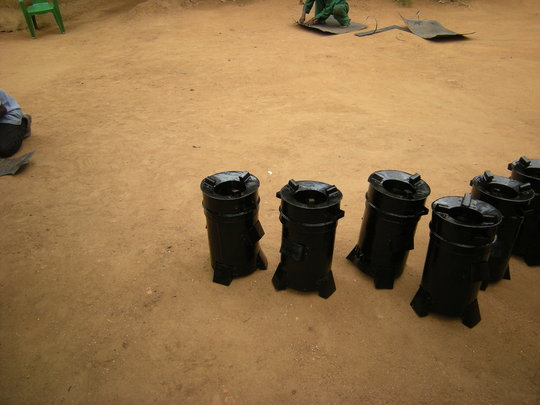 Newly manufactured ACON stoves