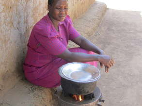 Women Using Stove