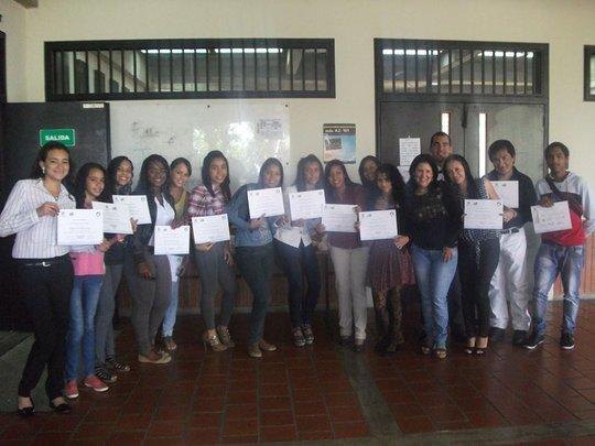 Certification ceremony (Petare)