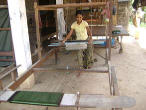 Silk Weaving Training Center in Cambodia