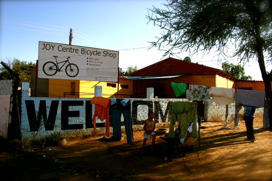 The JOY Centre Bicycle Project - Otjiwarongo