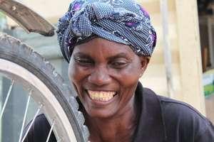 Bicycles Mechanic in Okalongo, Namibia