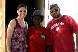 B4H-GA Founders, Davis & Mary Harwell w/ Rauha