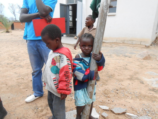 Children from our outreach program