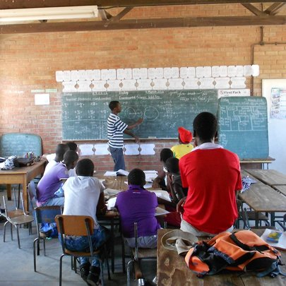 FEEDING THE MINDS OF 200 ZIMBABWEAN ORPHANS