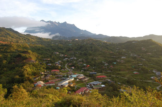 Mt. Kinabalu, sacred to Dusun communities