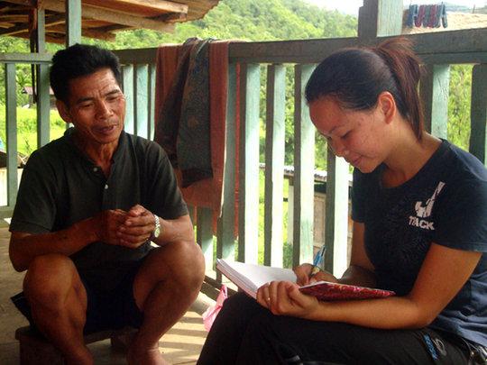 Interview with a handicraft maker from Ulu Papar