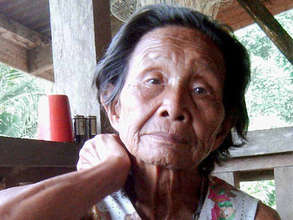 Village elder who told the story of Buayan's name