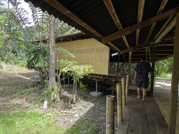 The community centre in Buayan