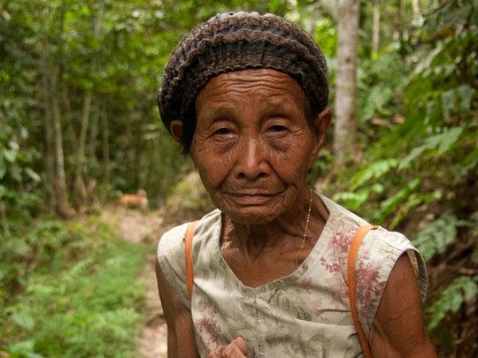 Village elder, a holder of important knowledge