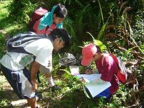 Collecting specimen data