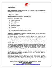 Quarterly Progress Report (PDF)