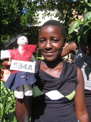 Sithabisiwe in 2008, age 15