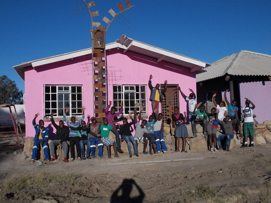 The Sewing Center and its builders