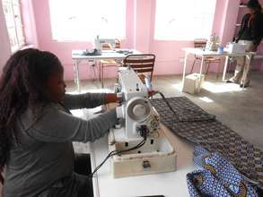 We are sewing up a storm in our new center