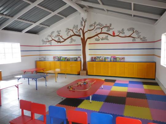 Interior of preschool