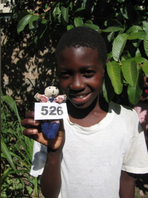 Ngqabutho in 2008 at age 11