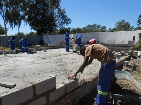 Zimkids are building our Sewing Training Center