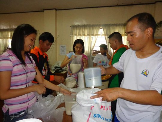 Preparing Food for Distribution