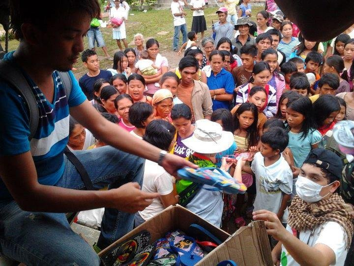 Providing Flood Relief for Families in Philippines