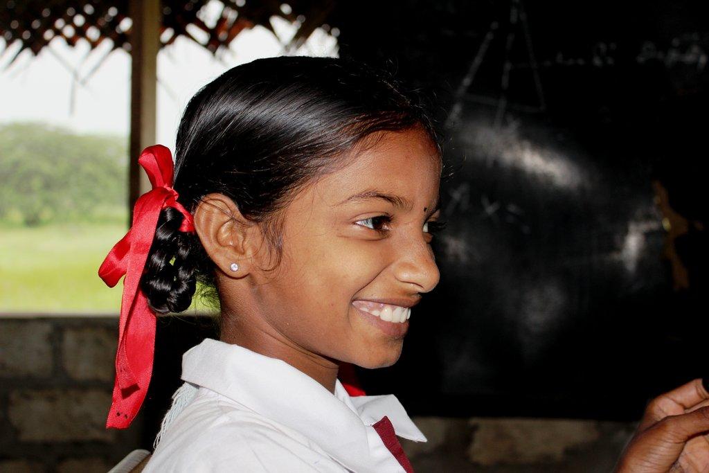 A Smile of a Hopeful Future