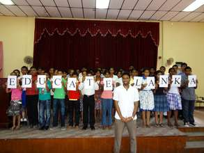 Educate Lanka Scholarship Recipients