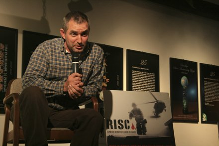 CJ Chivers speaks at RISC series