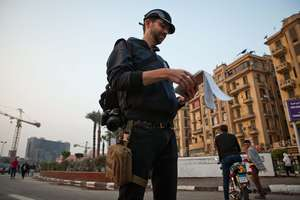 Jared Malsin reporting in Cairo with his RISC kit