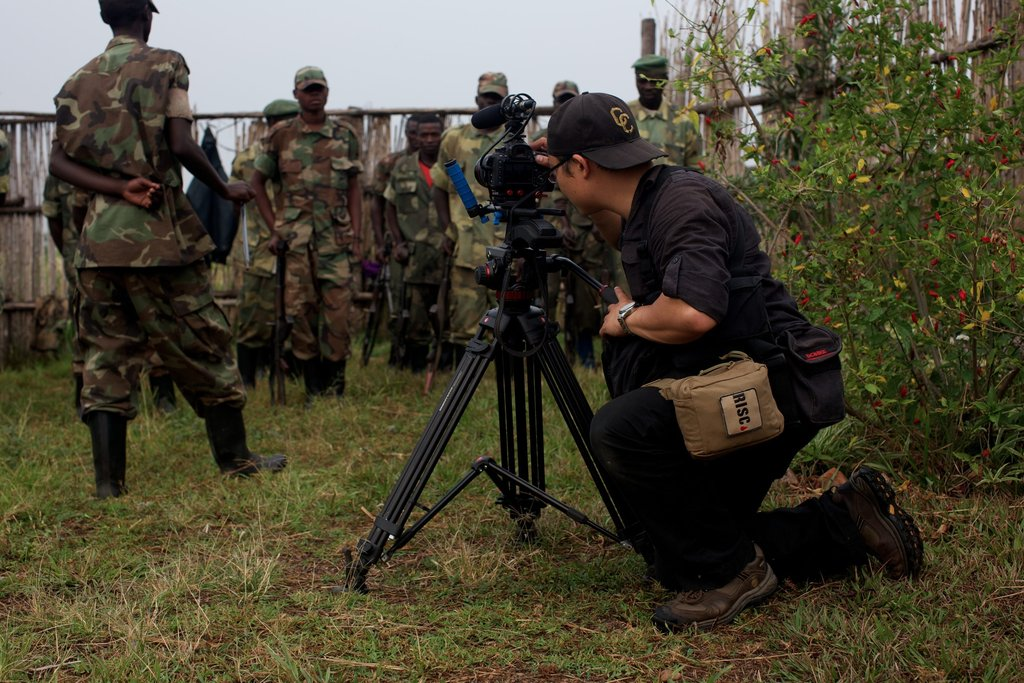 RISC alum Mike Shum reporting in the Congo in June