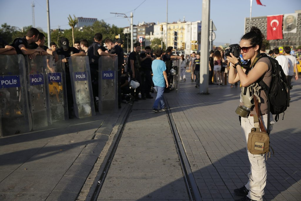 RISC alum Monique Jaques covers Istanbul protests