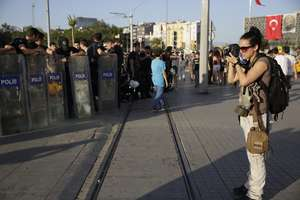 RISC alum Monique Jaques covers Istanbul protests